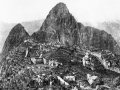 The first photograph upon discovery of Machu Picchu, 1912.jpg