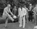President Ford showing off his skills to Pelé, 1975.png