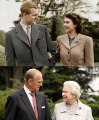 Queen Elizabeth and Prince Phillip, married since 1947.png